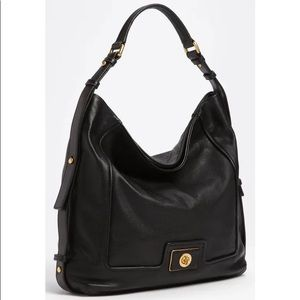 Marc Jacobs Revolution Hobo Bag Black Leather